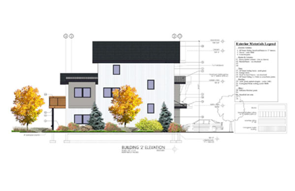 Sopris Town Homes individaul unit rendering